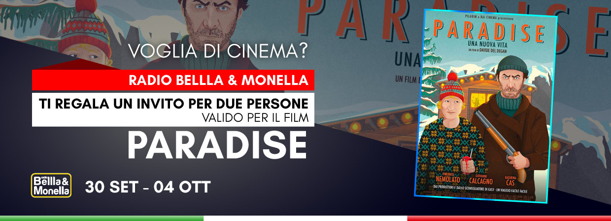 "Invito al cinema – ""Paradise"""